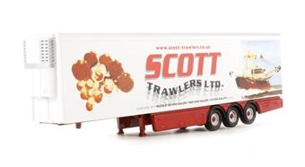 "76SCA03FR.T Scania trailer ""Scott Trawlers"""