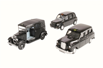 76SET09 Taxi 3 vehicle set with FX4, TX4 & Austin