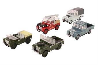76SET17E 5-piece Land Rover collection