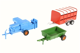 76SET36 3 Piece Farm Trailers