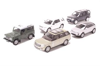 76SET44 5 Piece Land Rover Set