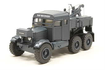 "76SP005-PO01 Pioneer Recovery Tractor ""RAF Blue Scammell"" - Pre-owned - Like new"