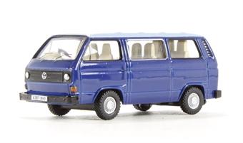 76T25002 VW T25 Cornat Blue/Guinea Blue