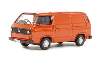 76T25004 VW T25 Van in Brilliant Orange