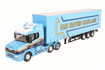 76TCAB009 Scania T Cab Curtainside Ian Hayes