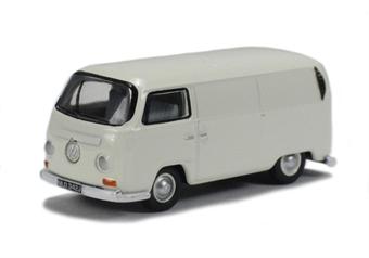 76VW013 VW Van Pastel White