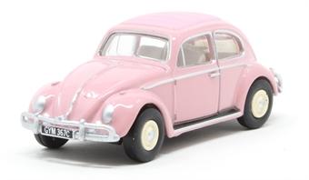 76VWB011UK VW Beetle Pink - UK Registration