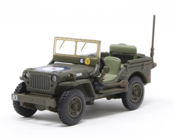 76WMB004 Willys MB RAF 83 Grp.2nd Tactical AF -1944/5