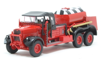 76WOT002 Ford WOT1 Crash Tender RAF Catterick (Red)