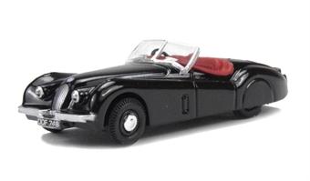 76XK120005 Jaguar XK120 Black.
