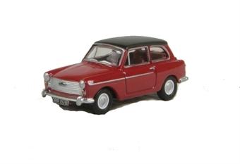 """76AA001 Austin A40 Farina MkII """"Agate Red/Black"""""""
