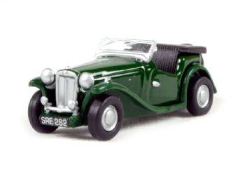 76MGTC001 MGTC in British racing green