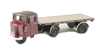 76MH009 Mechanical Horse & Flatbed Trailer in LMS livery