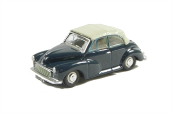 76MMC004 Morris Minor Convertible Closed in Trafalgar Blue/Pearl Grey £4.50