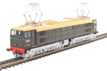 """7704 Class 77 EM2 Woodhead electric 27001 """"Ariadne"""" in BR green - Limited Edition for Olivias Trains"""