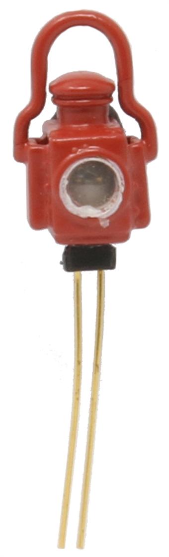 7A-000-009 Steam-era red brake lamp - working