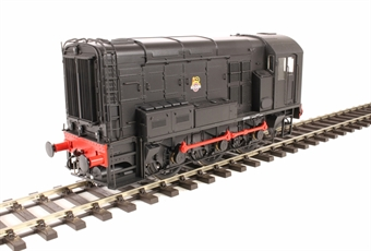 7D-008-004U Class 08 shunter in BR black with early emblem - Unnumbered