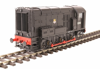 7D-008-004 Class 08 shunter 13240 in BR black with early emblem