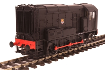 7D-008-007U Class 08 shunter in BR black with early emblem - unnnumbered