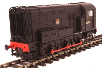 7D-008-007 Class 08 shunter 13003 in BR black with early emblem