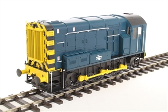 7D-008-011U Class 08 shunter in BR blue (without ladder) - unnumbered