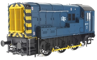 7D-008-013D Class 08 shunter 08717 in BR blue with Highland Rail (Inverness) branding - DCC sound fitted