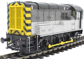 7D-008-015D Class 08 shunter 08740 in Railfreight Triple grey - DCC sound fitted