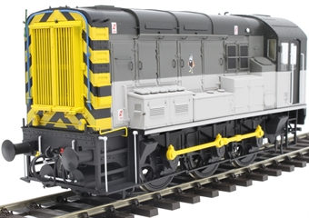7D-008-015UD Class 08 shunter in Railfreight Triple grey - unnumbered - DCC sound fitted