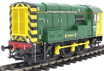 7D-008-016D Class 08 shunter 08891 in Freightliner green - DCC sound fitted