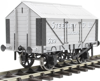 "7F-017-003 4-wheel lime van - ""S.L.B., Oswestry"""