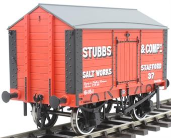 "7F-018-002 4-wheel Salt van - ""Stubbs and Co."""