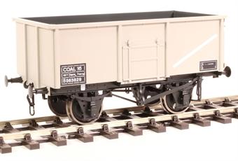 7F-030-005 16-ton steel mineral wagon Diagram 108 B563829 in BR grey