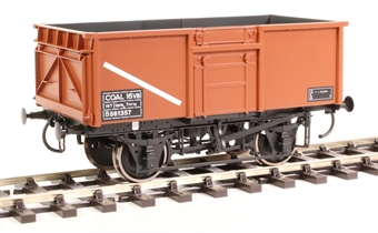 7F-030-006 16-ton steel mineral wagon Diagram 108 B561357 in BR bauxite