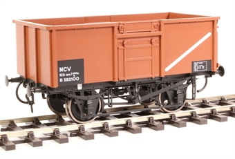 7F-030-009 16-ton steel mineral wagon Diagram 108 B582100 in BR bauxite
