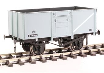 7F-030-050 16-ton steel mineral wagon Diagram 109 B70100 in BR grey