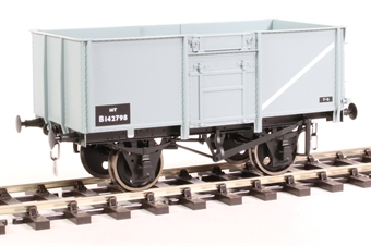 7F-030-051 16-ton steel mineral wagon Diagram 109 B142798 in BR grey
