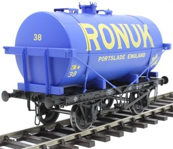 """7F-058-006 14-ton Type A tank wagon - """"Ronuk"""""""