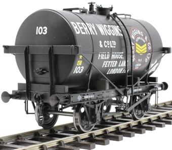 "7F-059-009 14-ton Type B tank wagon - ""Berry Wiggins"""