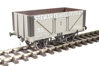 """7F-080-021 8-plank open wagon """"Stewart and Lloyd"""""""