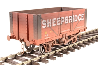 "7F-080-031W 8-plank open wagon - ""Sheepbridge"" - weathered"