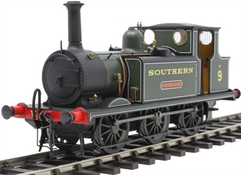 7S-010-010 Class A1X 'Terrier' 0-6-0T W9 'Fishbourne' in Southern Railway green