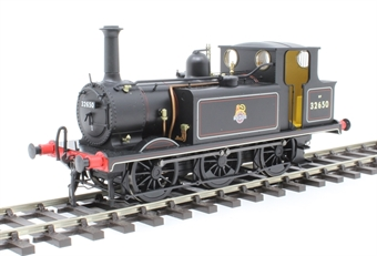 7S-010-012 Class A1X 'Terrier' 0-6-0T 32650 in BR lined black with early emblem