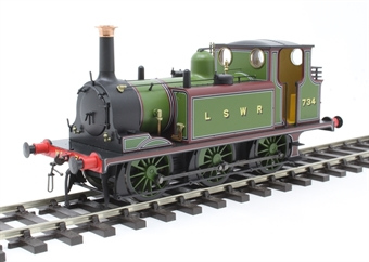 7S-010-014 Class A1 'Terrier' 0-6-0T 734 in LSWR green
