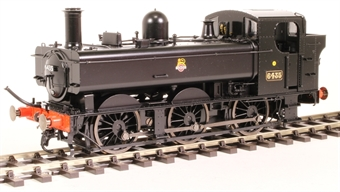 7S-024-003 Class 64xx 0-6-0PT pannier 6435 in BR black with early emblem