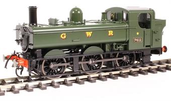 7S-025-001 Class 74xx 0-6-0PT pannier 7411 in GWR green