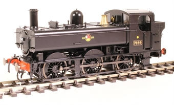 7S-025-002D Class 74xx 0-6-0PT pannier 7444 in BR black with late crest - DCC fitted