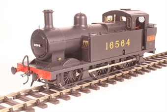 7S-026-001D Class 3F 'Jinty' 0-6-0T 16564 in early LMS black - DCC sound fitted