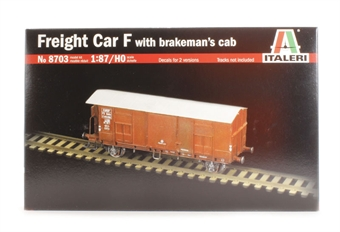 8703IT Freight car with brakemans cab