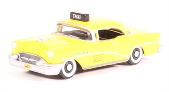 87BC55004 Buick Century 1955 New York Taxi