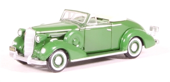 87BS36004 Buick Special Convertible Coupe 1936 Balmoral Green